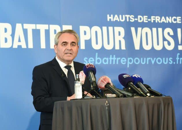 Régionales: un nouveau sondage place Bertrand en tête dans les Hauts-de-France, suivi par le RN