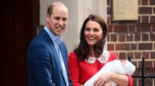 Why is the Duchess of Cambridge listed as a princess on Prince Louis' birth certificate?