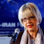 Senior EU diplomat, back from Iran, shows support for nuclear deal