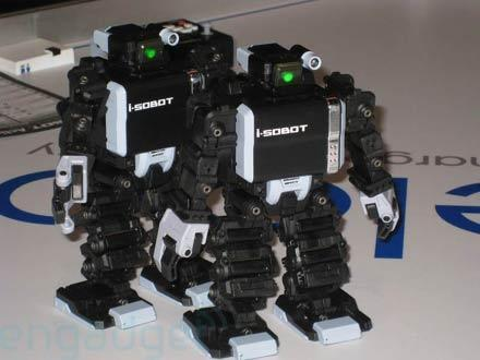 Hands-on with battling i-SOBOTs