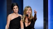 Jennifer Aniston And Courteney Cox Look Like Sisters In Birthday Celebration Snap