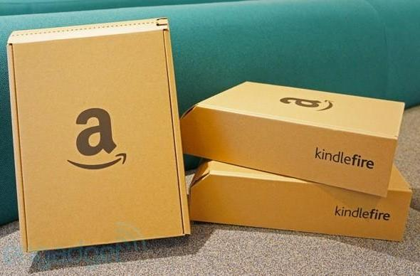 Engadget Giveaway: win one of three Kindle Fires, courtesy of TurboTax!