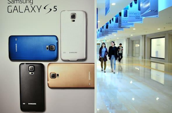 Samsung reportedly mulls leadership change amidst disappointing Galaxy S5 sales
