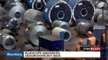BlueScope Steel CEO Vassella on Results, Expansion, Buyback