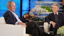 Jenna Bush Hager was asked about her dad's friendship with Ellen. Hear her gracious response