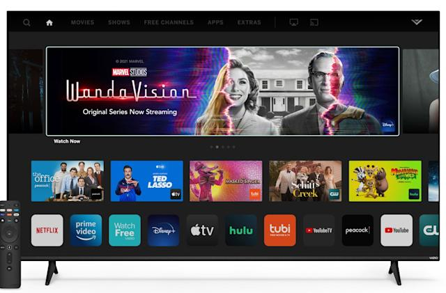 Vizio's 2022 TV lineup includes a 40-inch TV with VRR for less than $250
