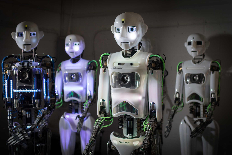 человекоподобные роботы картинки что очень