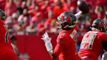 Buccaneers' Jameis Winston suffered thumb fracture but leads wild comeback vs. Colts