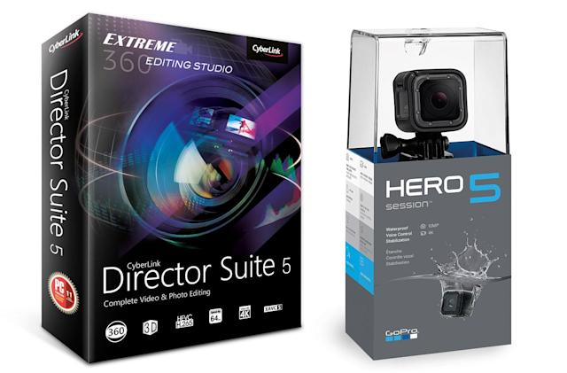 Engadget giveaway: Win a GoPro Hero5 Session and CyberLink software!