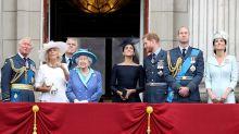 Königsfamilie feiert 100 Jahre Royal Air Force: Die schönsten Bilder der Show