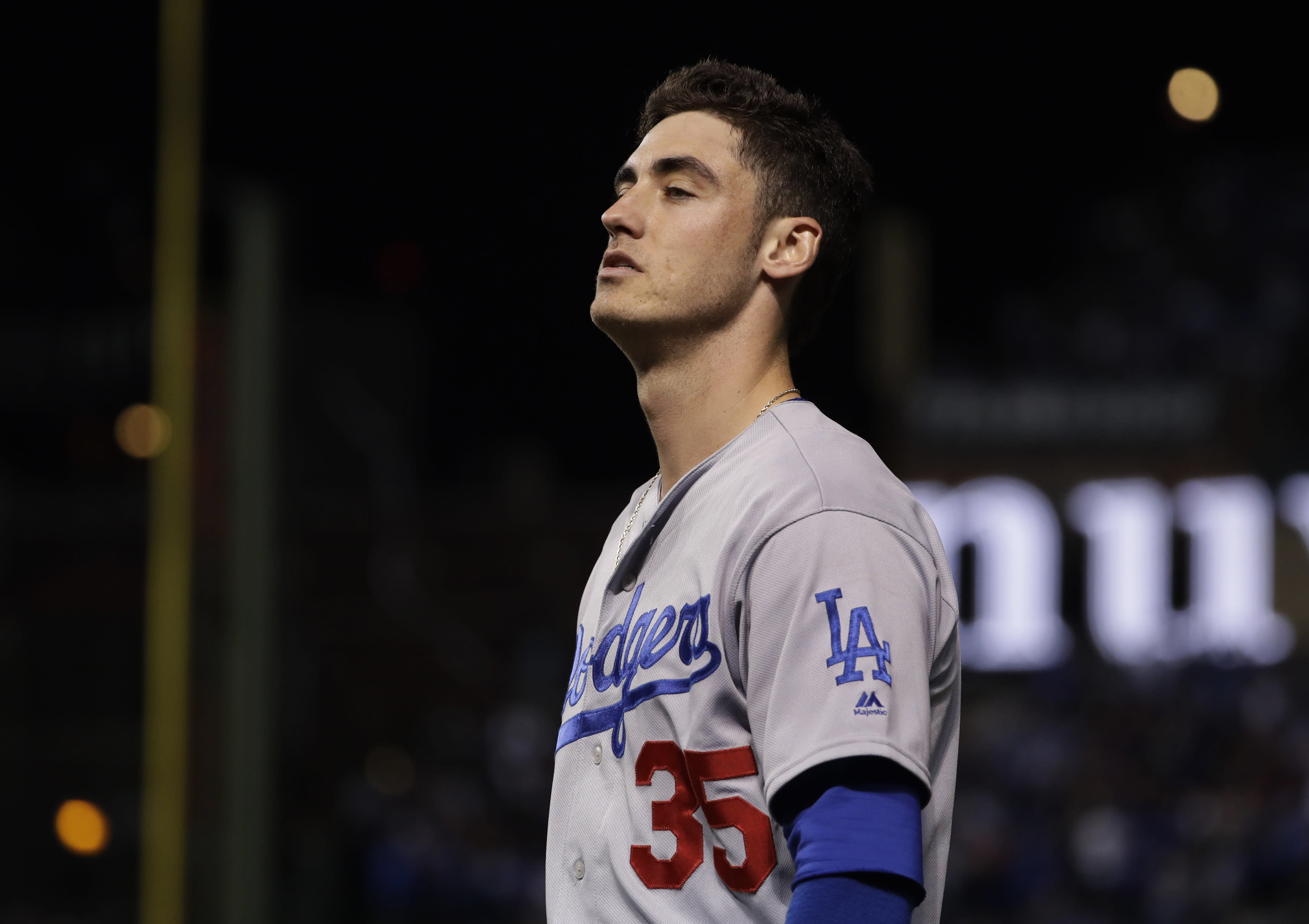 premium selection edd1e 5d5fc World Series Game 3: Dodgers asking a lot from slumping Cody ...