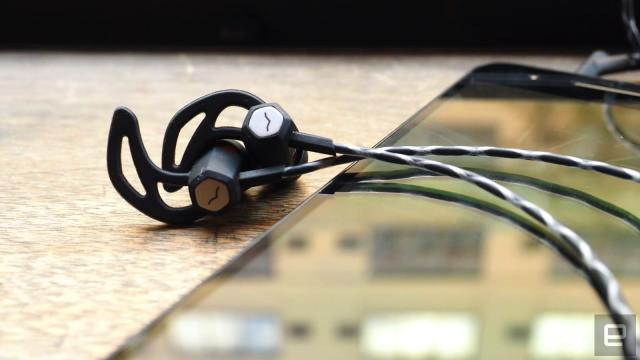 V-Moda's line of 'Forza' earbuds is meant for workouts