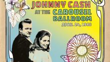 Unreleased Live Johnny Cash Album From 1968 Due in September