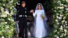 Mariage du prince Harry et Meghan Markle : Découvrez la somptueuse robe de soirée de Meghan Markle (vidéo)