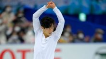Chen tops Hanyu in short program; Russia leads at World Team Trophy