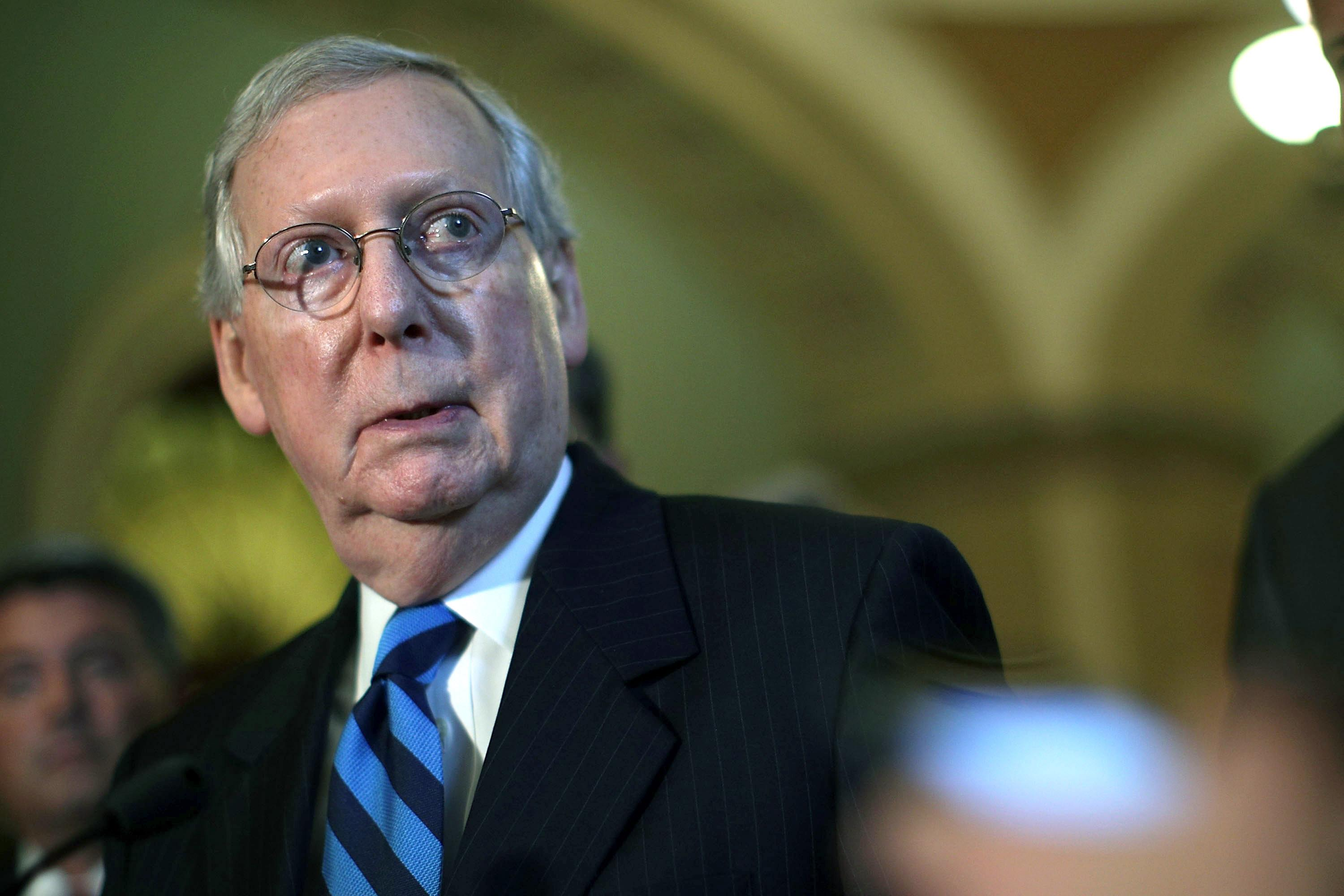 Senate Majority Leader Mitch McConnell (Getty Images)