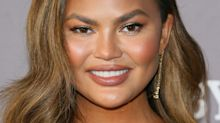 """Chrissy Teigen Posted an Ultrasound Pic of Her """"Sweet Strong Boy"""""""