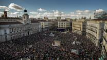 Spaniards Rally in Support of Podemos