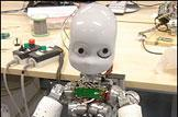 Researchers working to teach creepy baby robot to talk