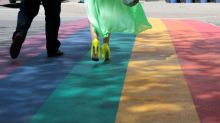 Community rallies behind Merritt students after rainbow crosswalk rejected by city council