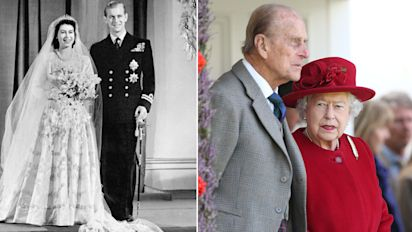 The Queen and Philip: 70 years of marriage in pics