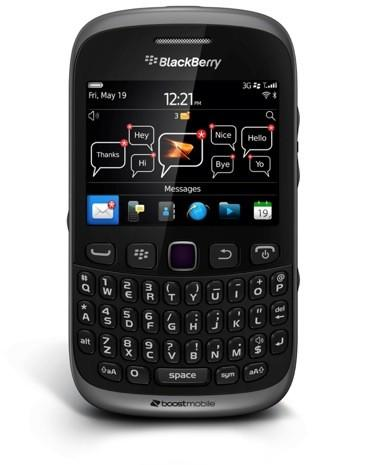 Boost Mobile takes BlackBerry Curve 9310 to the US, spices it up with $30 unlimited BBM, voice and text plan