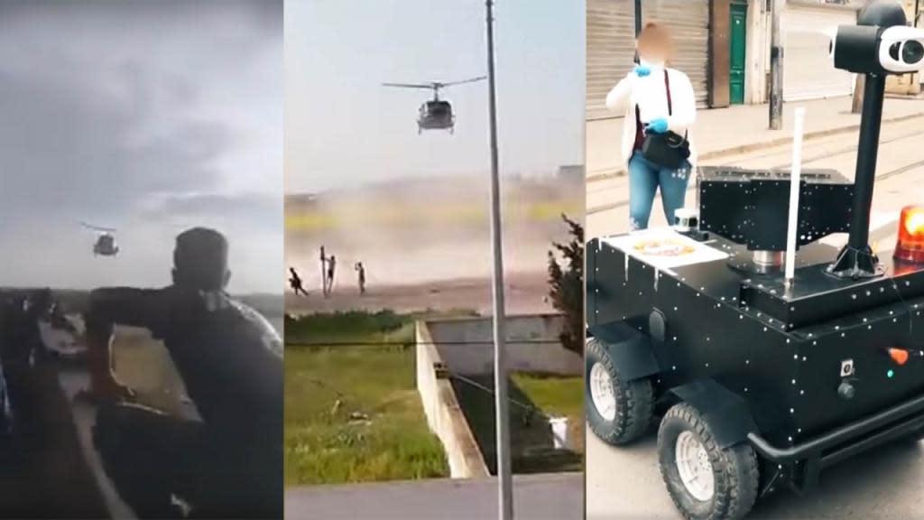Hélicoptères et robots : contre le coronavirus, la Tunisie ...