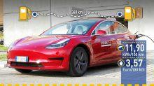 Tatsächlicher Verbrauch: Tesla Model 3 bei gemäßigter Temperatur im Test