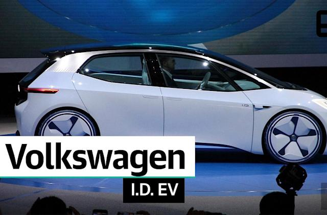 Volkswagen previews its EV future with the I.D. concept