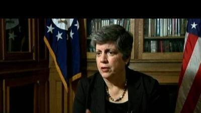 Napolitano: Technology backed by intelligence  ...