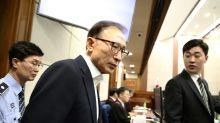 Former S. Korean president Lee slams 'insult' corruption charges