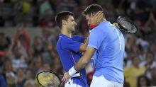 """Djokovic espera ver al """"desafortunado"""" Del Potro de vuelta en las canchas"""