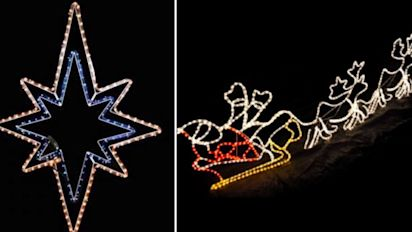 Christmas lights recalled over electrocution risk