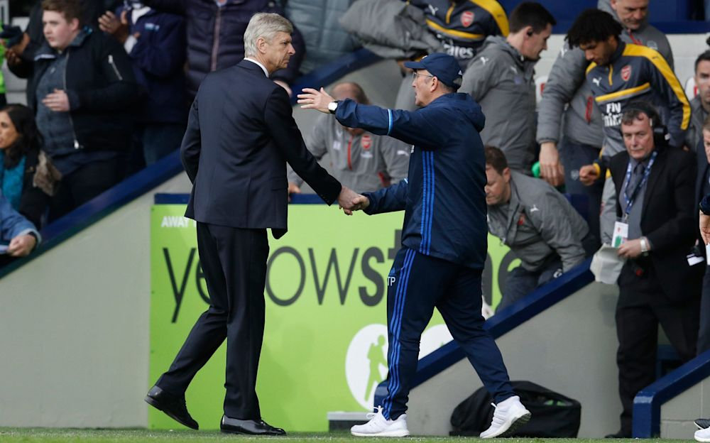 Wenger extended his terrible record away to Pulis - Reuters