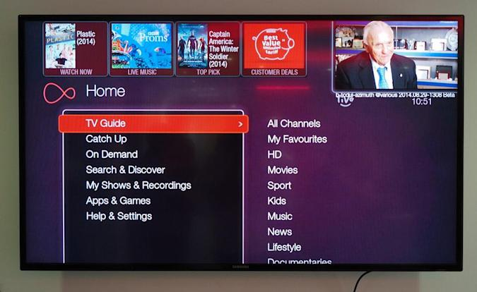 Virgin Media's TiVo UI is getting a welcome makeover
