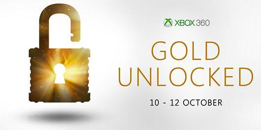Xbox Live Gold free on Xbox 360 this weekend