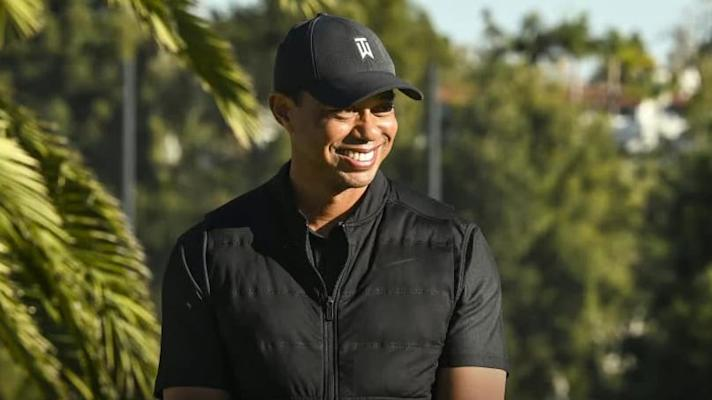 Tiger Woods injured in one-car accident