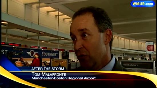 Airport disruptions continue after Sandy