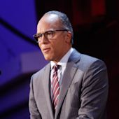 Lester Holt, the first presidential debate's moderator, preps for the task of a lifetime