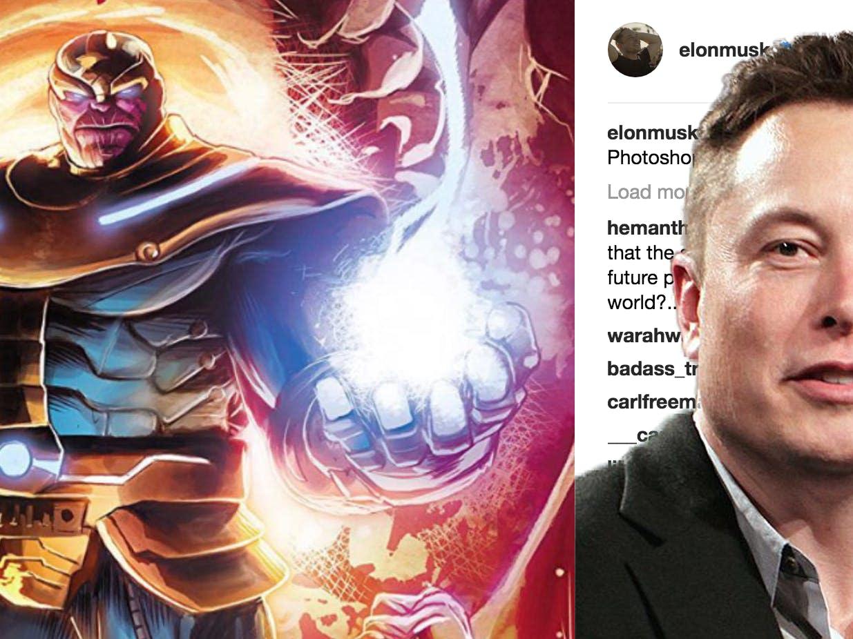 Au77 Doctor Strange Hero Illustration Art: Elon Musk Admits He's Evil, Will Cause Massive Loss For