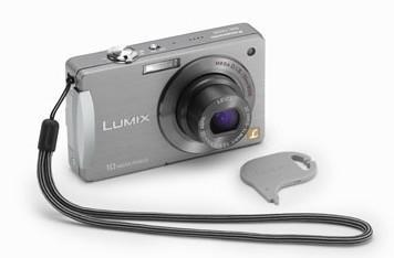 Panasonic Lumix DMC-FX500 features touchscreen, 720p movie mode