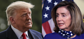 Trump and Pelosi (Yahoo TV)
