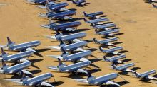 Coronavirus: How the travel downturn is sending jet planes to 'boneyards'