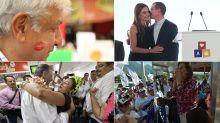 El candidato presidencial que recibe más besos | Elecciones en México en un golpe de vista