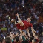 Totti bids Roma goodbye after a remarkable 25-season career