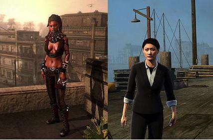 Infamous 2's morality system embodied by Kuo and Nix