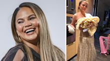 Chrissy Teigen shares the unglamorous side to being a mum