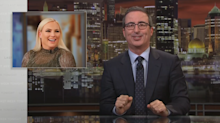 John Oliver blasts Meghan McCain as 'most embarrassing' child of a politician