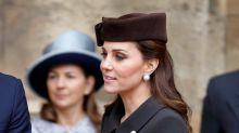 Kate Middleton asiste a servicios de Pascuas