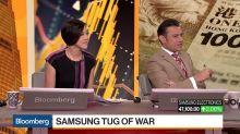 Samsung Tug of War